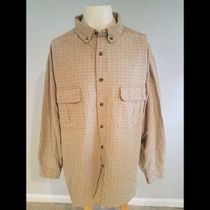 Woolrich L/S Plaid Check Button Front Shirt (2XL)